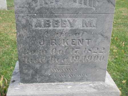 KENT, ABBEY M. (CLOSEUP) - Union County, South Dakota | ABBEY M. (CLOSEUP) KENT - South Dakota Gravestone Photos