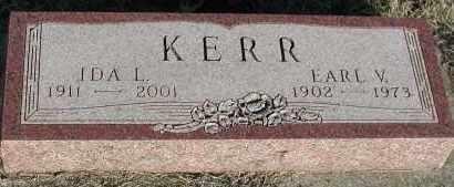 KERR, EARL V - Union County, South Dakota   EARL V KERR - South Dakota Gravestone Photos