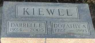KIEWEL, DORATHY A - Union County, South Dakota | DORATHY A KIEWEL - South Dakota Gravestone Photos