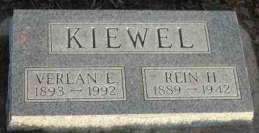 KIEWEL, VERLAN E - Union County, South Dakota | VERLAN E KIEWEL - South Dakota Gravestone Photos