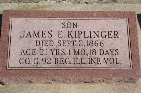 KIPLINGER, JAMES E. - Union County, South Dakota | JAMES E. KIPLINGER - South Dakota Gravestone Photos