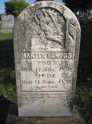 KJOS, MARTEN M. - Union County, South Dakota | MARTEN M. KJOS - South Dakota Gravestone Photos