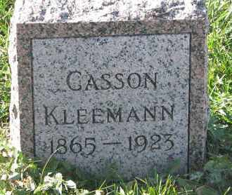 KLEEMAN, CASSON - Union County, South Dakota | CASSON KLEEMAN - South Dakota Gravestone Photos