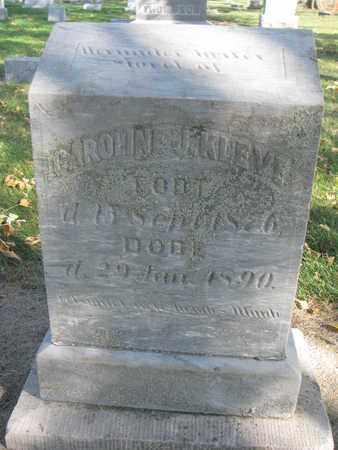 KLEVE, CAROLINE J. - Union County, South Dakota   CAROLINE J. KLEVE - South Dakota Gravestone Photos
