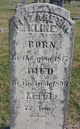 FRY KLINE, ELIZABETH - Union County, South Dakota | ELIZABETH FRY KLINE - South Dakota Gravestone Photos