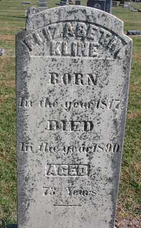 KLINE, ELIZABETH - Union County, South Dakota | ELIZABETH KLINE - South Dakota Gravestone Photos