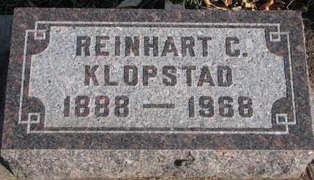 KLOPSTAD, REINHART C. - Union County, South Dakota   REINHART C. KLOPSTAD - South Dakota Gravestone Photos