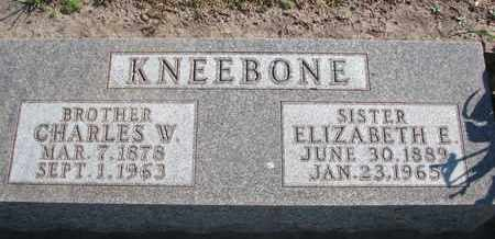 KNEEBONE, CHARLES W. - Union County, South Dakota | CHARLES W. KNEEBONE - South Dakota Gravestone Photos
