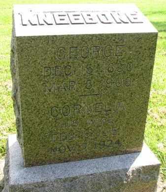 KNEEBONE, GEORGE - Union County, South Dakota | GEORGE KNEEBONE - South Dakota Gravestone Photos