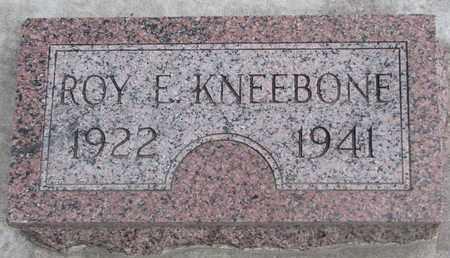 KNEEBONE, ROY E. - Union County, South Dakota | ROY E. KNEEBONE - South Dakota Gravestone Photos