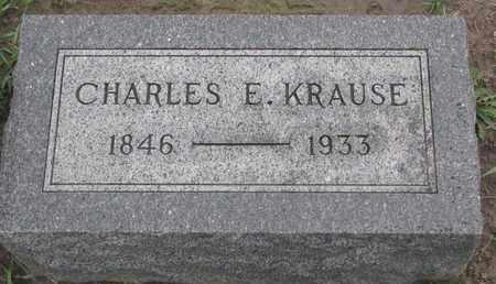 KRAUSE, CHARLES E. - Union County, South Dakota | CHARLES E. KRAUSE - South Dakota Gravestone Photos