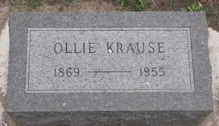 KRAUSE, OLLIE - Union County, South Dakota | OLLIE KRAUSE - South Dakota Gravestone Photos