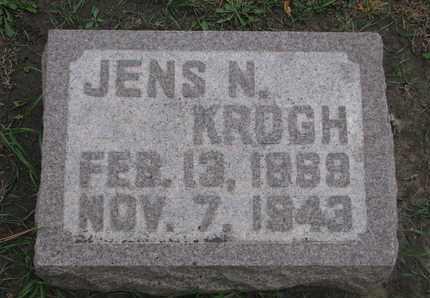 KROGH, JENS N. - Union County, South Dakota   JENS N. KROGH - South Dakota Gravestone Photos