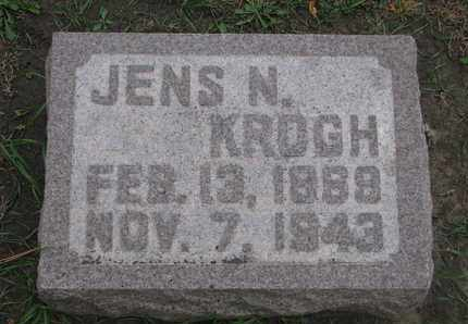 KROGH, JENS N. - Union County, South Dakota | JENS N. KROGH - South Dakota Gravestone Photos