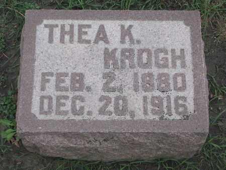 KROGH, THEA K. - Union County, South Dakota | THEA K. KROGH - South Dakota Gravestone Photos