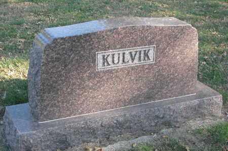 KULVIK, FAMILY STONE - Union County, South Dakota | FAMILY STONE KULVIK - South Dakota Gravestone Photos