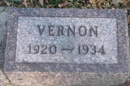 KULVIK, VERNON - Union County, South Dakota | VERNON KULVIK - South Dakota Gravestone Photos