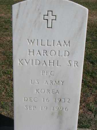 KVIDAHL, WILLIAM HAROLD SR. (KOREA) - Union County, South Dakota | WILLIAM HAROLD SR. (KOREA) KVIDAHL - South Dakota Gravestone Photos