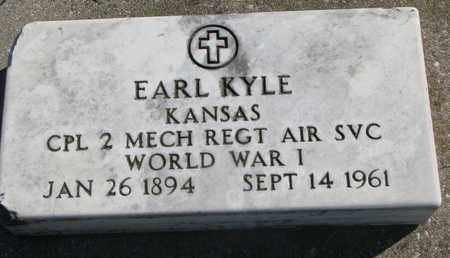 KYLE, EARL (WORLD WAR I) - Union County, South Dakota | EARL (WORLD WAR I) KYLE - South Dakota Gravestone Photos