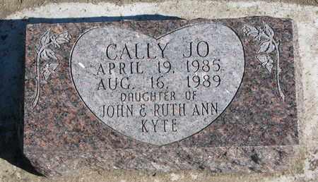 KYTE, CALLY JO - Union County, South Dakota   CALLY JO KYTE - South Dakota Gravestone Photos