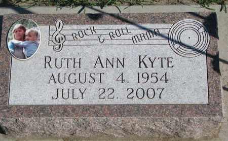 KYTE, RUTH ANN - Union County, South Dakota   RUTH ANN KYTE - South Dakota Gravestone Photos