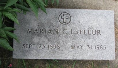 LAFLEUR, MARIAN C. - Union County, South Dakota | MARIAN C. LAFLEUR - South Dakota Gravestone Photos