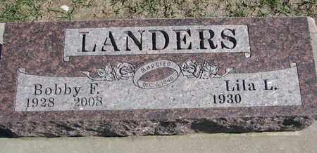 LANDERS, BOBBY F. - Union County, South Dakota | BOBBY F. LANDERS - South Dakota Gravestone Photos