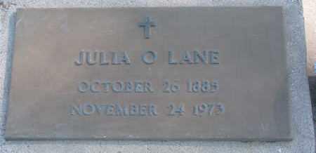 LANE, JULIA O. - Union County, South Dakota | JULIA O. LANE - South Dakota Gravestone Photos