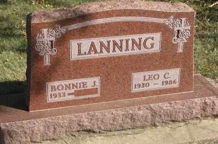 LANNING, BONNIE J. - Union County, South Dakota | BONNIE J. LANNING - South Dakota Gravestone Photos