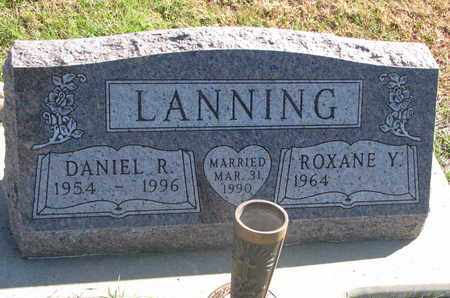 LANNING, ROXANE Y. - Union County, South Dakota | ROXANE Y. LANNING - South Dakota Gravestone Photos