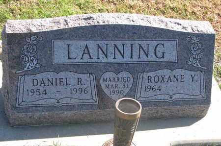 LANNING, ROXANE Y. - Union County, South Dakota | ROXANE Y. LANNING - South Dakota Gravestone Photos