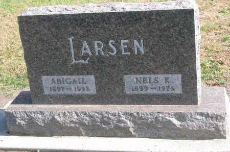 LARSEN, ABIGAIL - Union County, South Dakota | ABIGAIL LARSEN - South Dakota Gravestone Photos