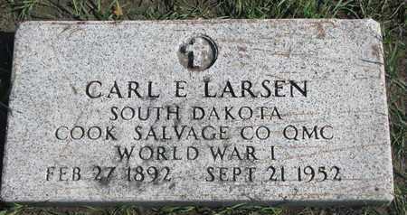 LARSEN, CARL E. (WORLD WAR I) - Union County, South Dakota   CARL E. (WORLD WAR I) LARSEN - South Dakota Gravestone Photos