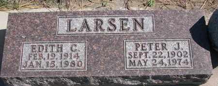LARSEN, EDITH C. - Union County, South Dakota | EDITH C. LARSEN - South Dakota Gravestone Photos