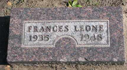 LARSEN, FRANCES LEONE - Union County, South Dakota | FRANCES LEONE LARSEN - South Dakota Gravestone Photos