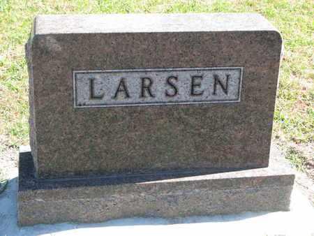 LARSEN, FAMILY STONE - Union County, South Dakota   FAMILY STONE LARSEN - South Dakota Gravestone Photos