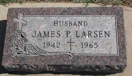 LARSEN, JAMES P. - Union County, South Dakota   JAMES P. LARSEN - South Dakota Gravestone Photos