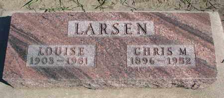 LARSEN, CHRIS M. - Union County, South Dakota | CHRIS M. LARSEN - South Dakota Gravestone Photos