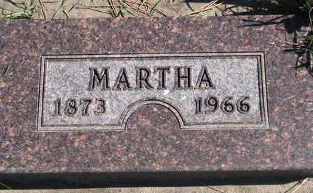 LARSEN, MARTHA - Union County, South Dakota   MARTHA LARSEN - South Dakota Gravestone Photos