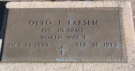 LARSEN, OTTO F. - Union County, South Dakota | OTTO F. LARSEN - South Dakota Gravestone Photos