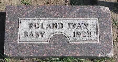 LARSEN, ROLAND IVAN - Union County, South Dakota   ROLAND IVAN LARSEN - South Dakota Gravestone Photos