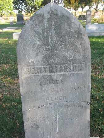 LARSON, BERET - Union County, South Dakota | BERET LARSON - South Dakota Gravestone Photos