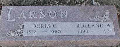 LARSON, ROLLAND W - Union County, South Dakota | ROLLAND W LARSON - South Dakota Gravestone Photos