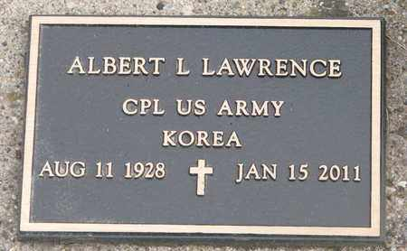 LAWRENCE, ALBERT L. (KOREA) - Union County, South Dakota | ALBERT L. (KOREA) LAWRENCE - South Dakota Gravestone Photos