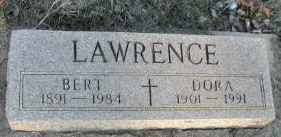LAWRENCE, DORA - Union County, South Dakota | DORA LAWRENCE - South Dakota Gravestone Photos