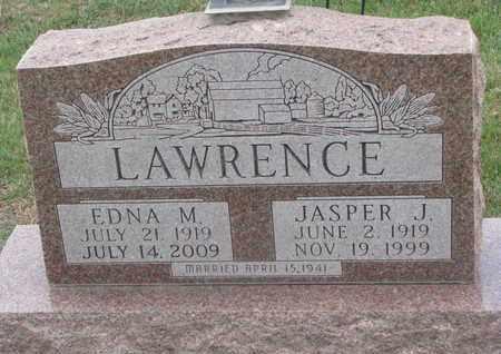 LAWRENCE, EDNA M. - Union County, South Dakota | EDNA M. LAWRENCE - South Dakota Gravestone Photos
