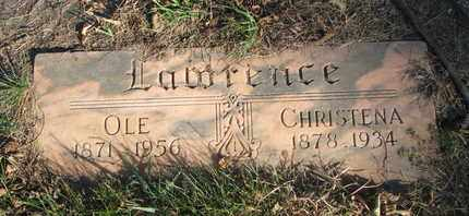 LAWRENCE, OLE - Union County, South Dakota | OLE LAWRENCE - South Dakota Gravestone Photos