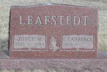 LEAFSTEDT, E. LAWRENCE - Union County, South Dakota   E. LAWRENCE LEAFSTEDT - South Dakota Gravestone Photos