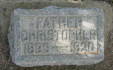 LEWISON, CHRISTOPHER - Union County, South Dakota | CHRISTOPHER LEWISON - South Dakota Gravestone Photos