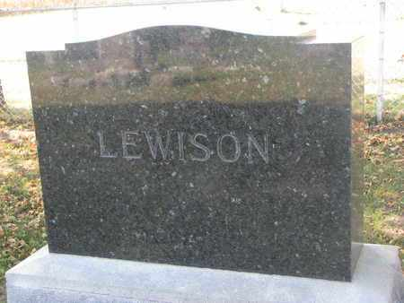 LEWISON, *FAMILY STONE - Union County, South Dakota | *FAMILY STONE LEWISON - South Dakota Gravestone Photos